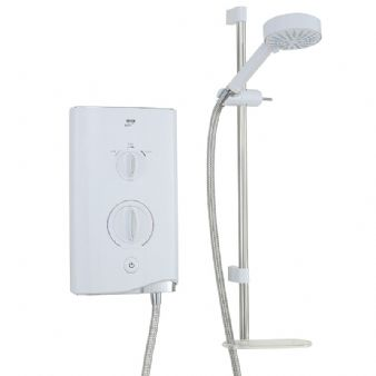 Mira Sport Electric Shower 9.8kW White/Chrome 1.1746.003